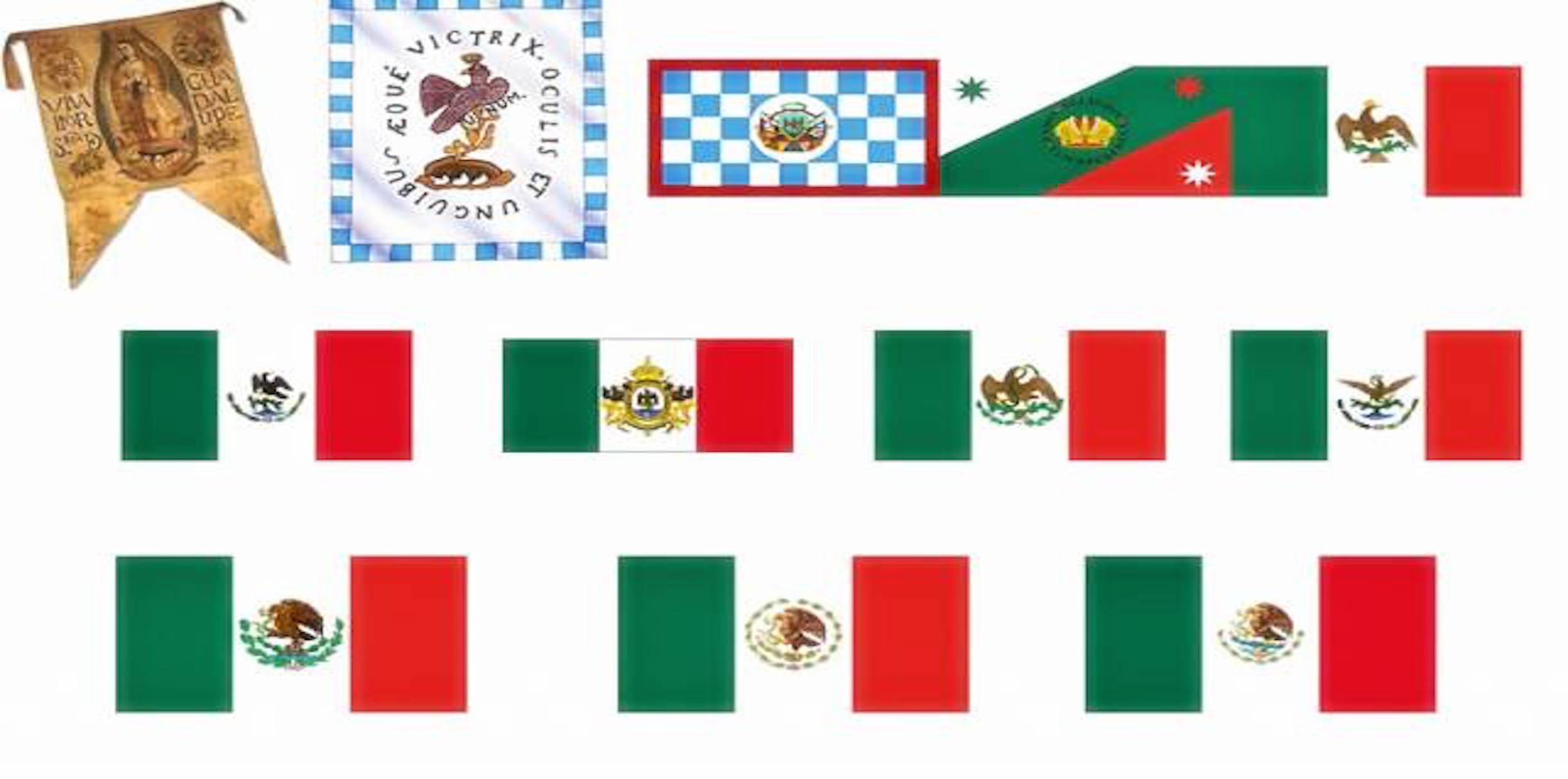La Bandera De México Significado Y Evolución Infografía